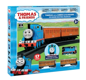 Thomas with Annie & Clarabel OO Scale Electric Train Set