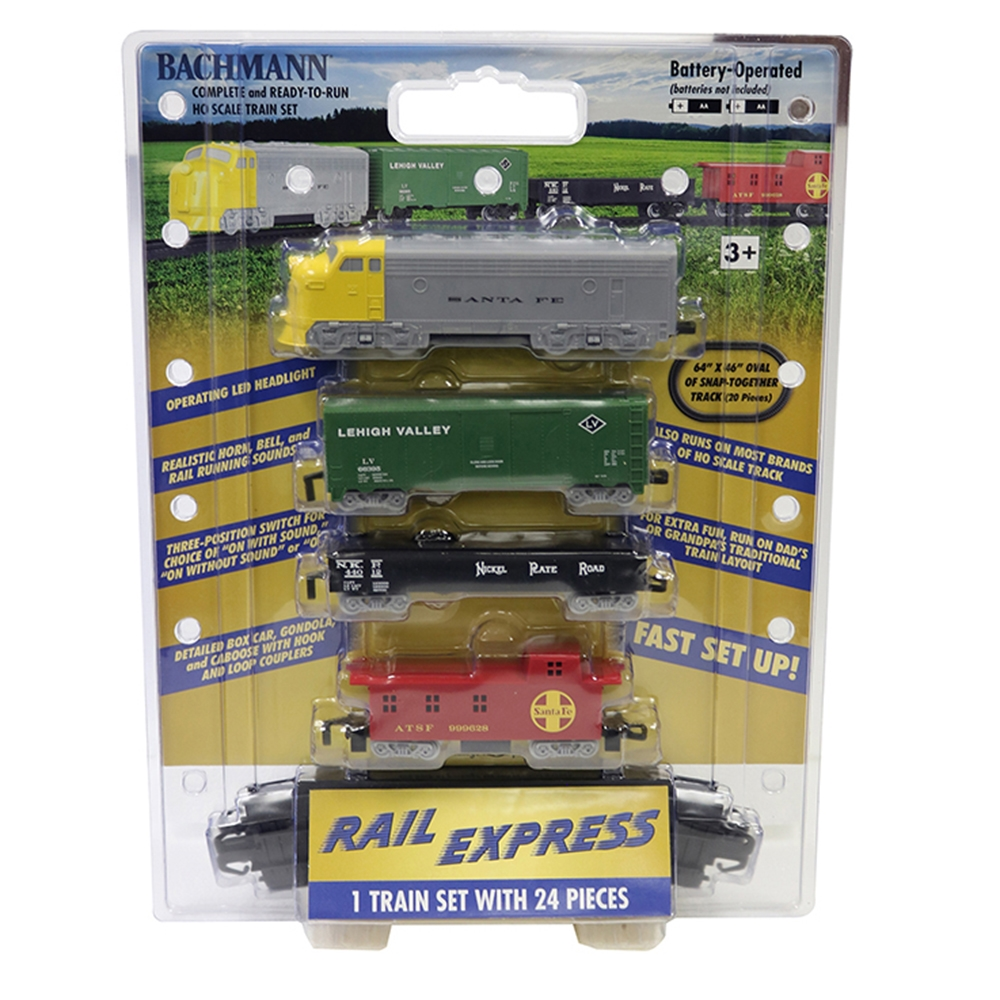 Rail Express Train Set