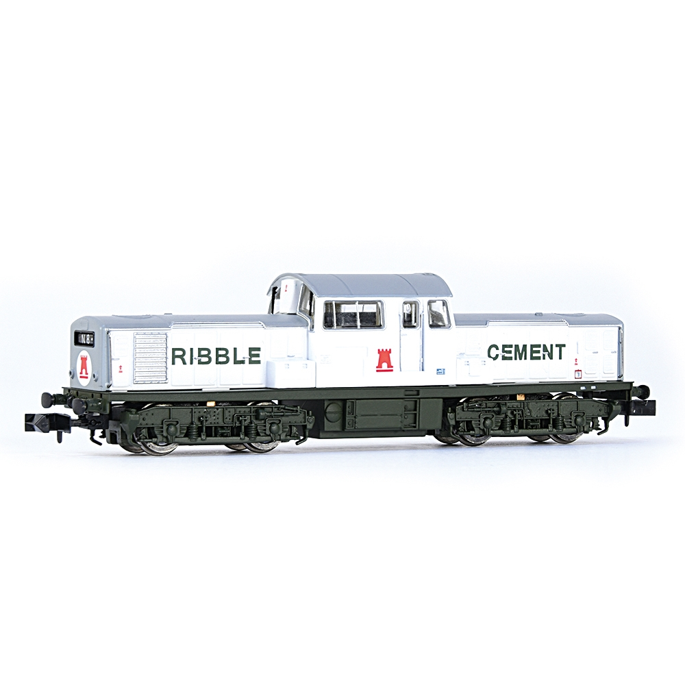 Class 17 Ribble Cement White & Green
