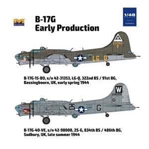 B-17G Flying Fortress Early Production