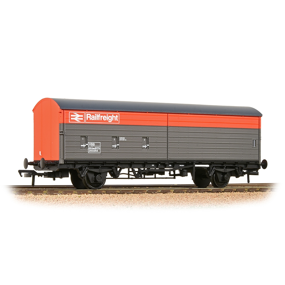 BR VBA Van BR Railfreight Red & Grey