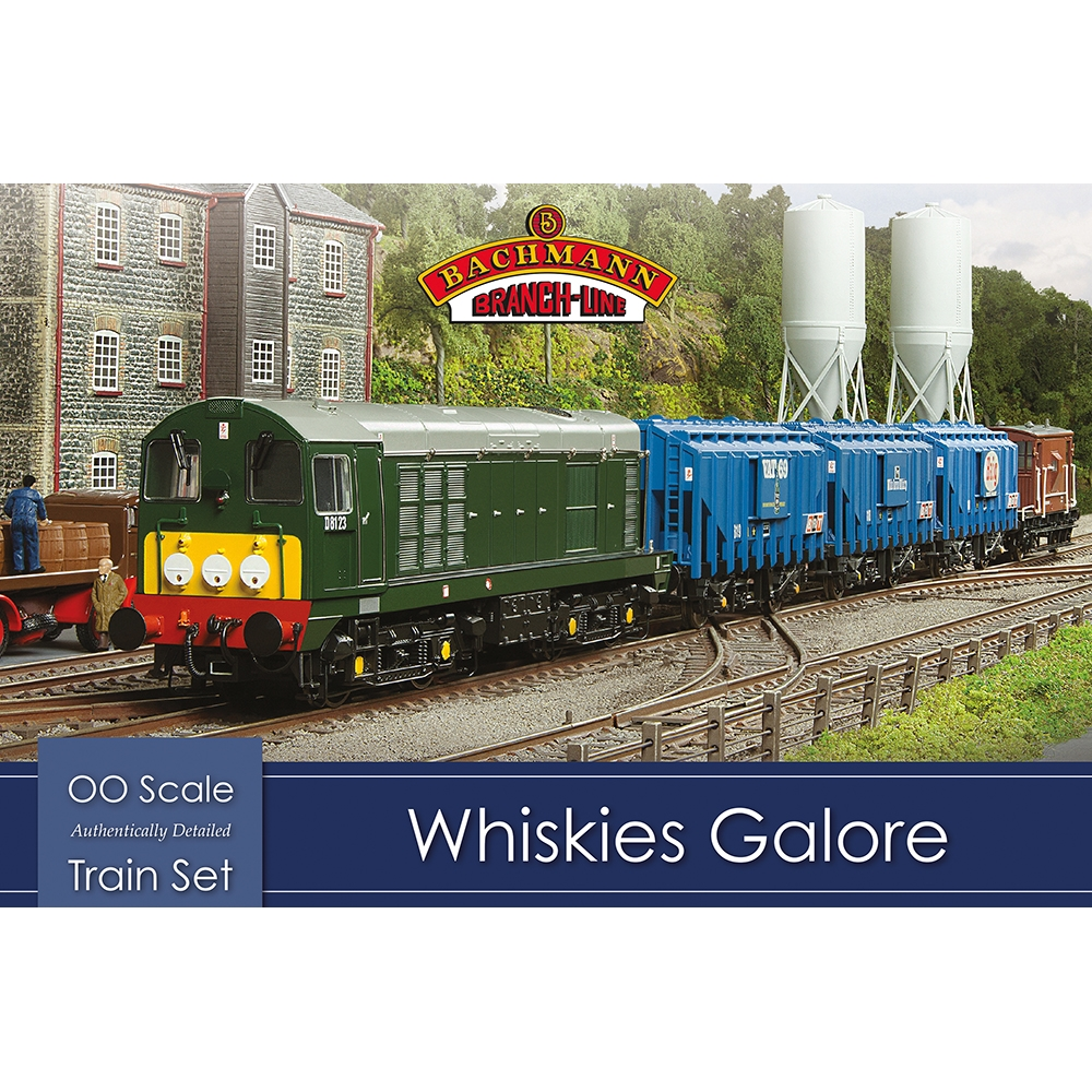 Whiskies Galore Sound Fitted Train Set