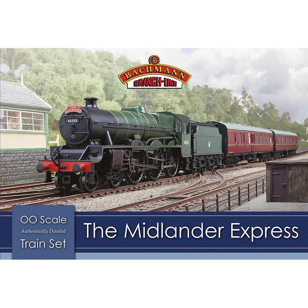 The Midlander Express Train Set