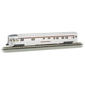85' Streamline Fluted Observation Car - Pennsylvania (Lighted)