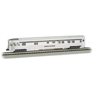 85' Streamline Fluted Observation Car - B&O (Lighted)