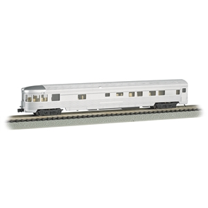 85' Streamline Fluted Observation Car - Unlettered (Lighted)