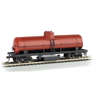 Track Cleaning Tank Car - Oxide Red Unlettered
