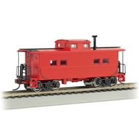 Northeast Steel Caboose Painted, Unlettered - Caboose Red
