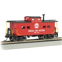 Northeast Steel Caboose Norfolk & Western Red #500825