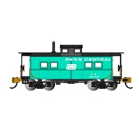 Northeast Steel Caboose Penn Central #18419 - Jade Green