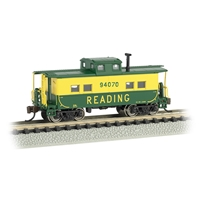 Northeast Steel Caboose - Reading #94070 (Green & Yellow)