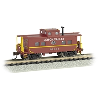 Northeast Steel Caboose - Lehigh Valley #95004 (Tuscan Red)