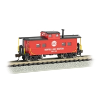 Northeast Steel Caboose Norfolk & Western #500825 - Red