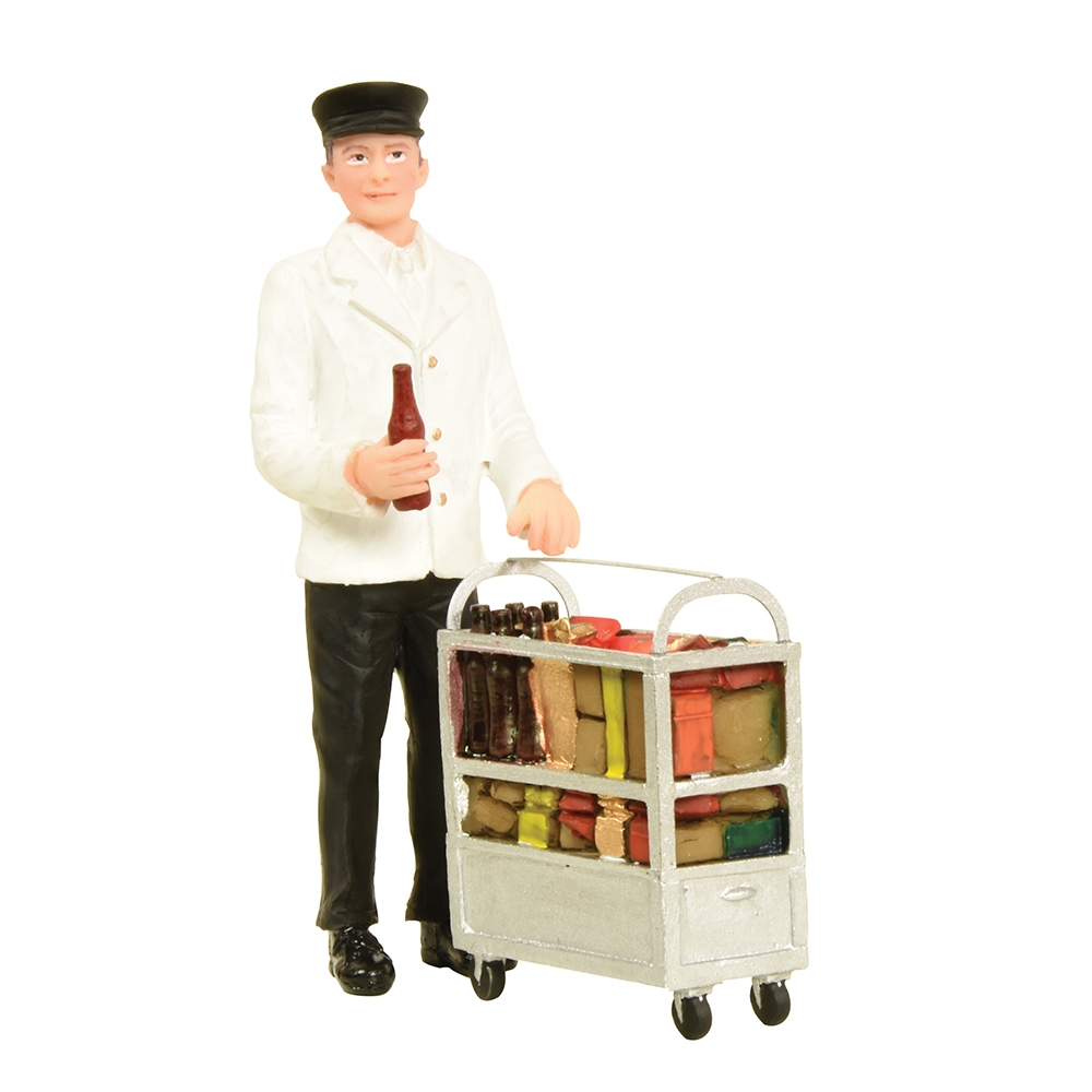 Service Person with Minibar