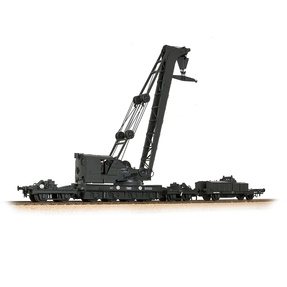 Ransomes & Rapier 45T Steam Breakdown Crane GWR Grey