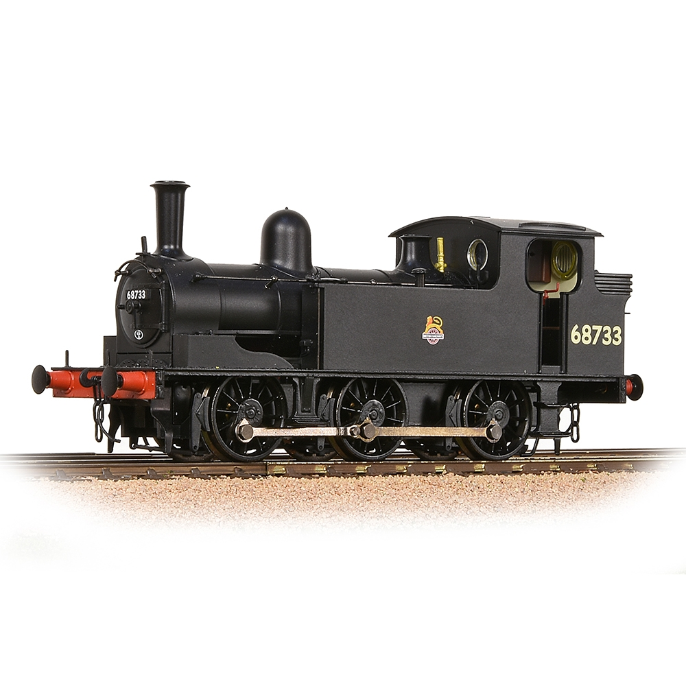 LNER J72 Tank 68733 BR Black (Early Emblem)