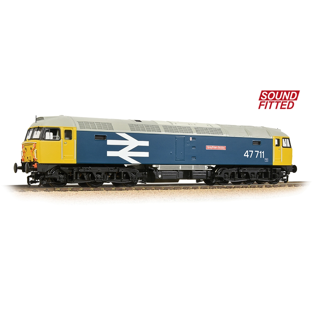 Class 47/7 47711 'Greyfriars Bobby' BR Blue (Large Logo)