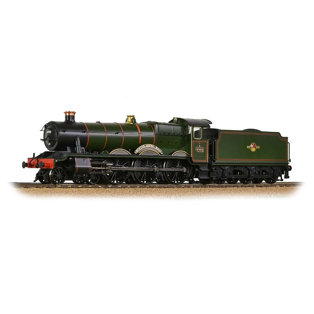 GWR 'Modified Hall' 6998 'Burton Agnes Hall' BR Lined Green (Late Cr.)