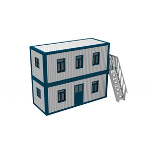 O Scale Container Offices