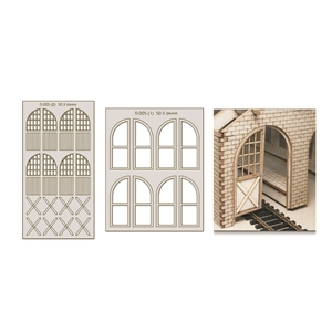Lasercut Doors, Windows & Parts