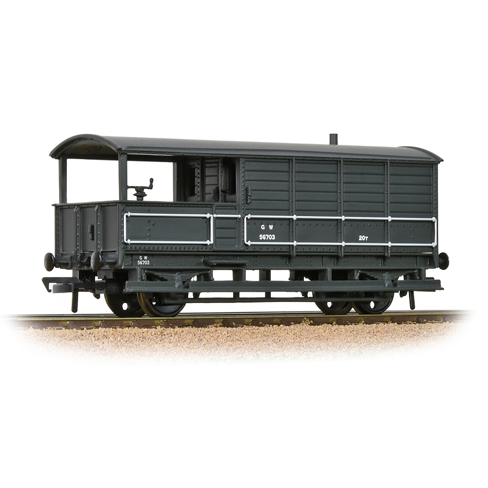 GWR 20T 'Toad' Brake Van  GWR Grey