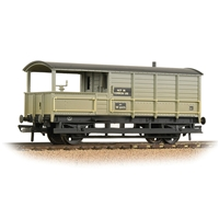 GWR 20T 'Toad' Brake Van BR Grey (Early) - Weathered