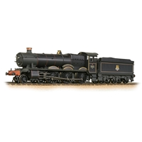 GWR 49XX 'Hall' 4971 'Stanway Hall' BR Lined Black (Early Emblem)