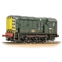 Class 08 D3881 BR Green (Wasp Stripes)