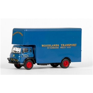Bedford TK Luton Box Van Woodlands Transport