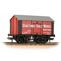 33-181A 10T Covered Salt Wagon 'Stafford Salt Works' Red