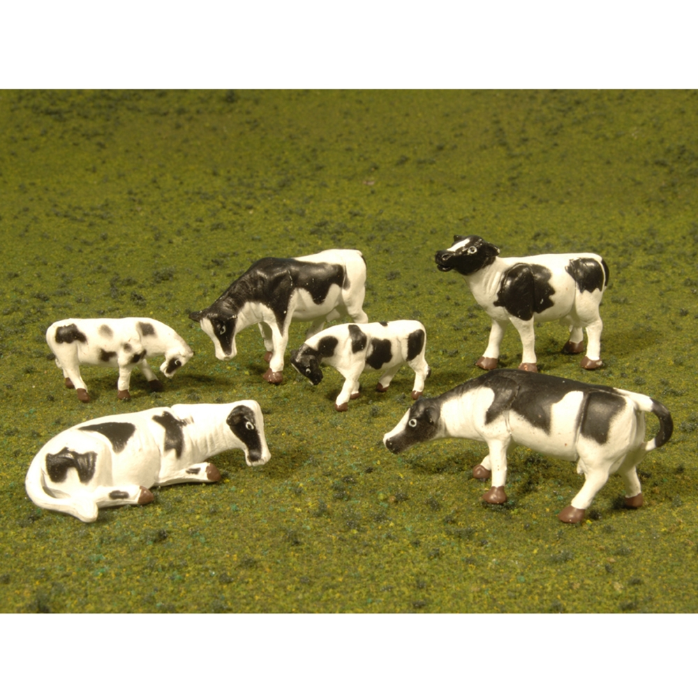 Cows - Black & White (6/Pack)