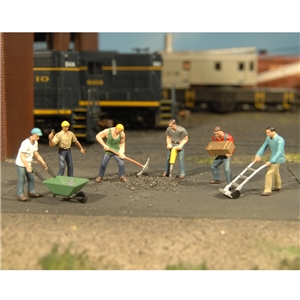 Construction Workers (6/Pack)