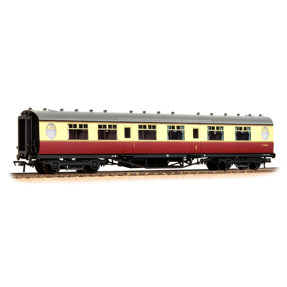 LNER Thompson Composite Corridor BR Crimson & Cream