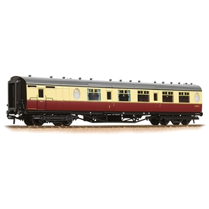 LNER Thompson Brake Composite Corridor BR Crimson & Cream