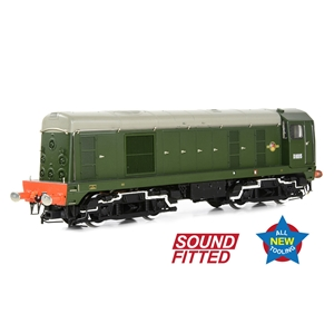 35-351 Class 20/0 D8015 BR Green (Late Crest) SOUND FITTED