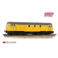 Class 31/6 Refurbished 31602 Network Rail Yellow