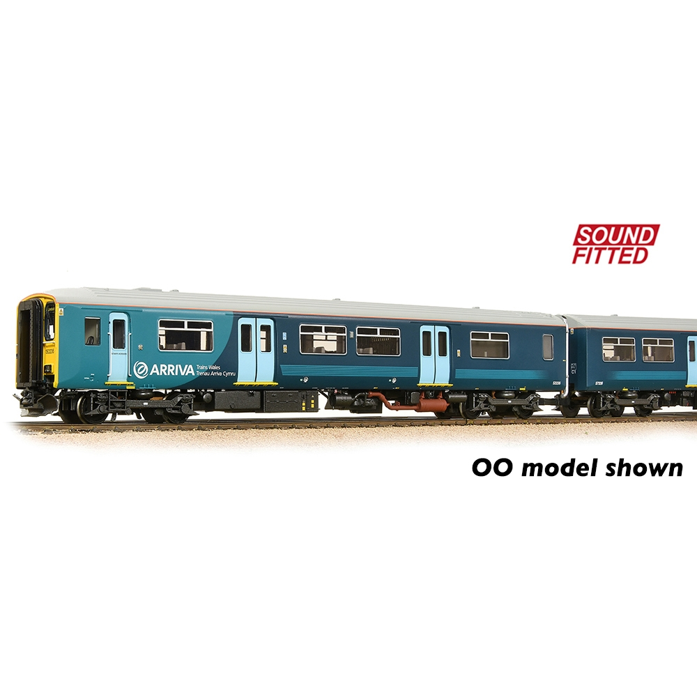 Class 150/2 2-Car DMU 150236 Arriva Trains Wales (Revised)