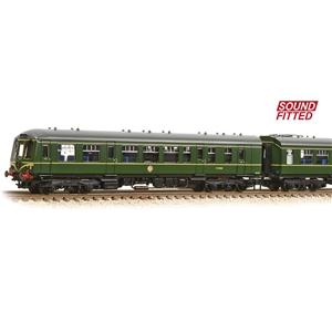 Class 108 3-Car DMU BR Green (Speed Whiskers)