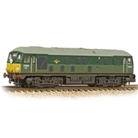 Class 24/1 D5053 BR Two-Tone Green (Small Yellow Panels)