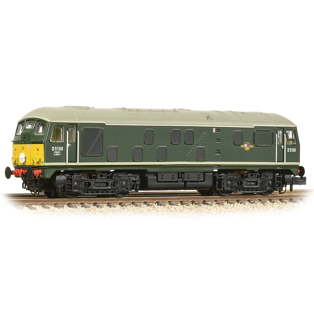 Class 24/1 D5100 BR Green (Small Yellow Panels)
