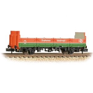 BR OBA Open Wagon High Ends BR Plasmor Blockfreight