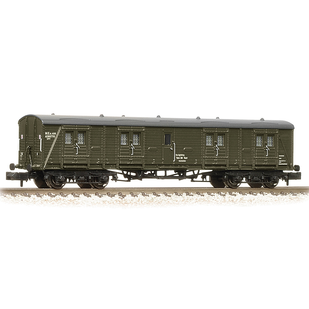 SR Bogie B Luggage Van BR Departmental Olive Green