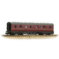 LMS Stanier 50ft Full Brake BR Maroon
