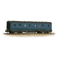 LMS Stanier 50ft Full Brake BR Blue