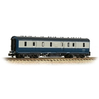 LMS Stanier 50ft Full Brake BR Blue & Grey
