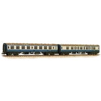 BR Mk1 2-Coach Pack 'Works Test Train' BR Blue & Grey