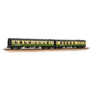 374-993 BR Mk1 TSO & BCK 2-Coach Pack BR West Highland Line Green & Cream