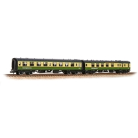BR Mk1 TSO & BCK 2-Coach Pack BR West Highland Line Green & Cream