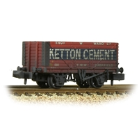 8 Plank Wagon End Door 'Ketton Cement' Red