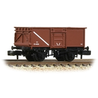 BR 16T Steel Mineral Wagon with Top Flap Doors BR Bauxite (Early)